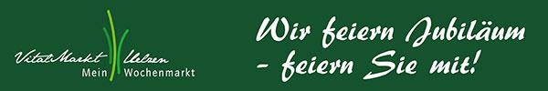 Vitalmarkt-Jubiläum am 5. Mai: NDR-Koch Rainer Sass zu Gast in Uelzen