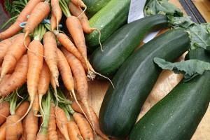 Möhren und Zucchini – eine perfekte Mischung in der Pfanne!